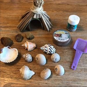 Hermit Crab Hut, Shells and More!
